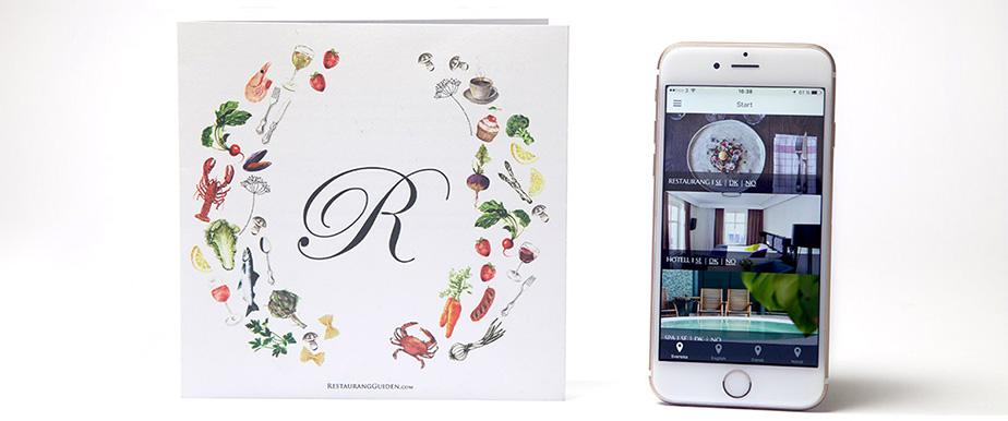 Restaurangguiden's gift card app